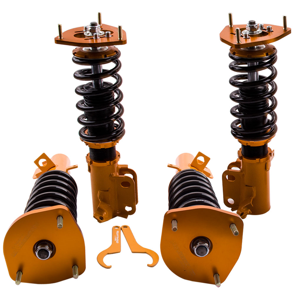 Coilover Kits for <font><b>Toyota</b></font> <font><b>Corolla</b></font> AE90 AE92 AE100 <font><b>AE101</b></font> AE111 88-99 Coilovers Suspensioni Camber plate Front Rear image