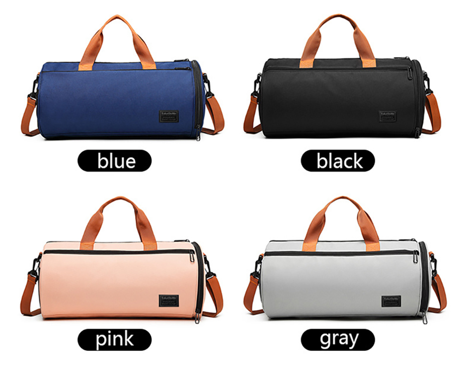 Outdoor Sports Gym Bag Multifunction Training Fitness Shoulder Bag With Shoes Pocket Travel Yoga Handbag Dry wet Swimming Bag0113