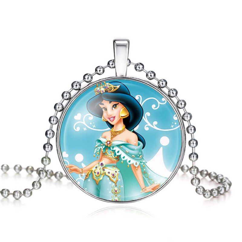 Disney Frozen Elsa /& Anna Pendant Necklace Lovely Princess Gift Birthday Party