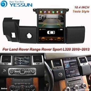 Tesla ekran dla Land Rover Range Rover Sport L320 2010 2011 2012 2013 samochodów Android odtwarzacz multimedialny 10.4 cal Radio samochodowe GPS