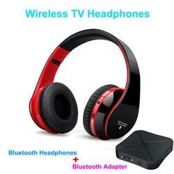 Многофункциональная стерео Беспроводная ТВ-гарнитура Bluetooth наушники с микрофоном для MP3 ПК ТВ аудио телефонов pk Bingle B616 гарнитура