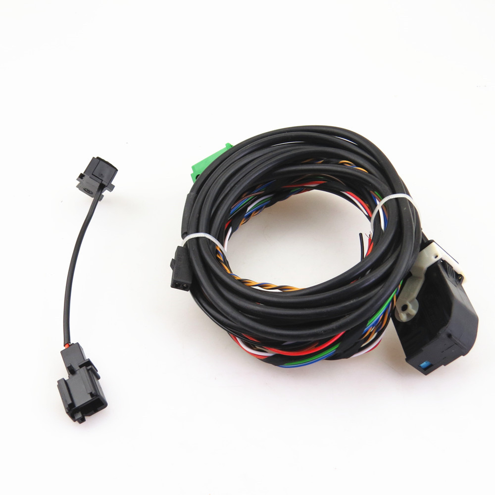 9W2 RCD510 3BD035711 Bluetooth Microphone Module Harness Cable For VW Passat B6