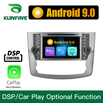 Android 9.0 Octa Core 4GB RAM 64GB ROM Car DVD GPS Navigation Multimedia Player Car Stereo for Toyota Avalon 2011 2012 Radio