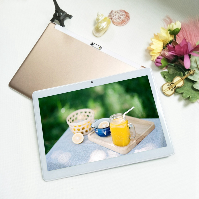 Android Tablet 10.1 Inch 3G Phone Call Wifi GPS 1 GB+16GB Quad Core Press Screen Gift Tablet For Kids Children EU Plug