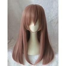Парик для косплея Nishimiya Shouko из фильма «тихий голос», прямые волосы для лица