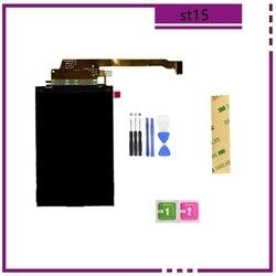 ЖК-экран St15 для Sony Ericsson ST15 ST15i Xperia Mini с инструментами