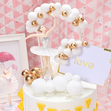 Cloud Cake Toppers Flags Cake-Decor-Supplies Shower-Decoration Birthday-Party Baby DIY
