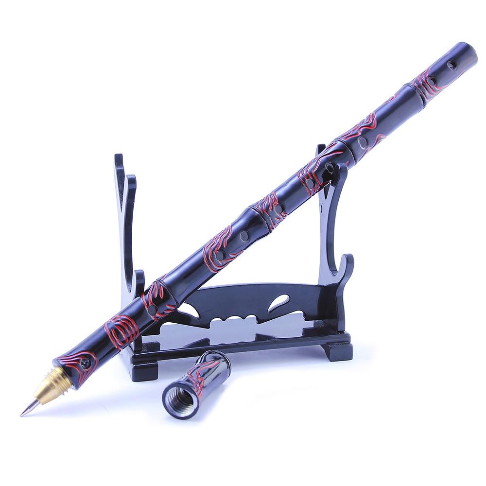 Fashion Creative Stylus Metal Weapon Shape MO DAO ZU SHI Anime Gel Pen For Writing Stationery Office School Pen