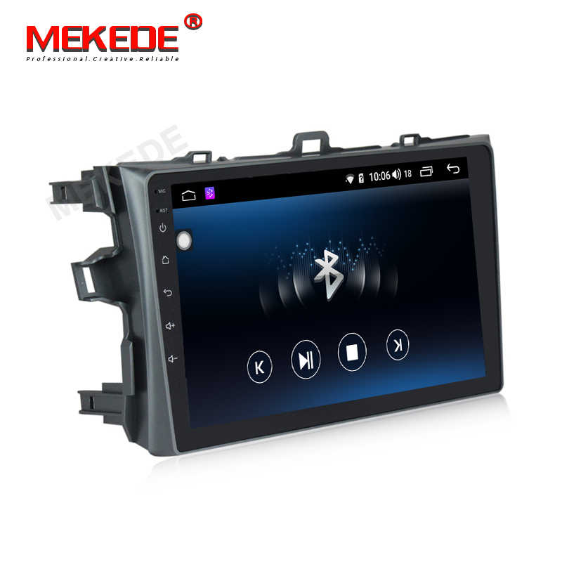 MEKEDE 4G+64G Android 9.0 For Toyota Corolla 2007 2008 2009 2010 2011 Car Radio Multimedia Video Player Navigation GPS 2 din dvd