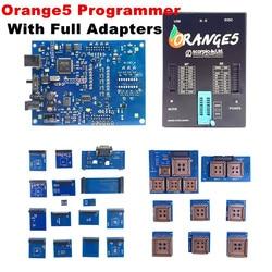 Orange5 Plus Programmeur Volledige Set Oem Oranje 5 Programmeur Met Volledige Adapter Andsoftware Apparaat Hardware + Verbeterde Functie