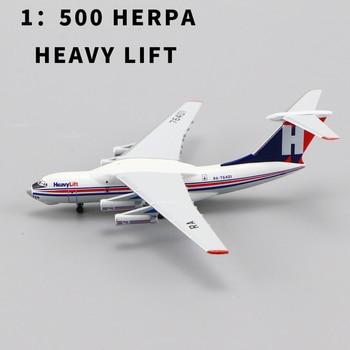 1:500 SCALE HERPA MINIATURMODELLE  HEAVY LIFT IIYUSHIN IL-76 LIMITED  RARE COLLECTION FOR GIFT 1