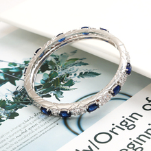 Fashion High Quality Bangles Jewelry Plated Rhinestone bracelets style Colorful Crystals bracelet for women Luxury Gift цены