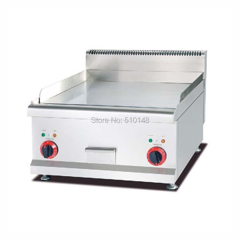 353 98 Pkjg Eg686 Comptoir Plaque Chauffante Electrique Plaque Plate Gril Inox Plaque Chauffante Electrique Pour Restaurant Cuisine Plancha In