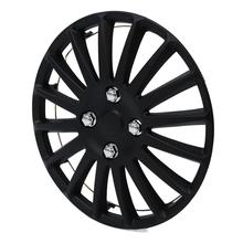 1 pcs 14 inch Car Wheel Trim Hub Cap Plastic Cover Universal Matte Black