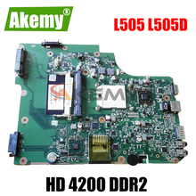 AKEMY PN 1310A2250810 SPS V000185580 Laptop Motherboard for Toshiba SATELLITE L505 L505D HD 4200 DDR2 Mainboard free cpu