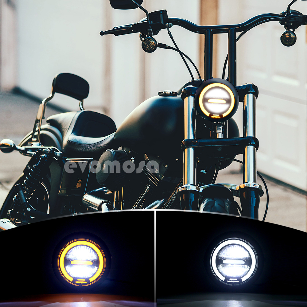 6.5 Inch Universal Led Retro Headlight 6.5