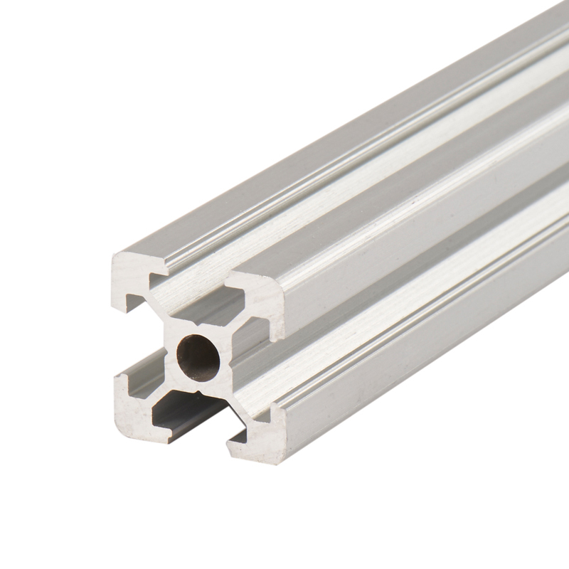1PC Silvery <font><b>2020</b></font> Anodized Aluminum <font><b>Profile</b></font> Extrusion 100mm - <font><b>1000mm</b></font> Length EU Standard Linear Rail for DIY CNC Router 3D Printer image