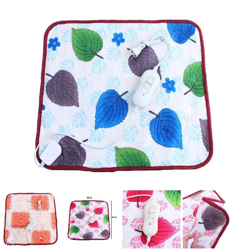 40*40cm 20W Dog Cat Electric Heat Pad Temperature Adjustable Pet Bed Blanket Puppy Kitten Bunny Heater Mat YU-Home