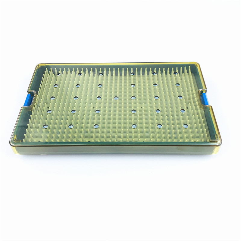 Silicone Sterilization Tray Case Opthalmic Surgical Instrument Dental Instrument Disinfection Box