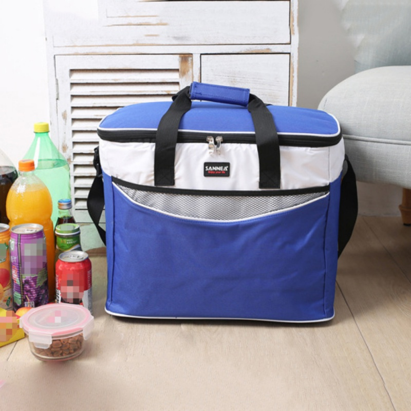 Insulated Cooler Ice Tote Bag Lunch Box Beer Fruits Container Box Outdoors