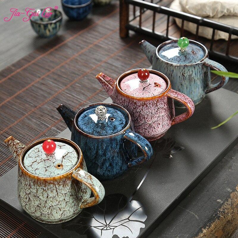 JIA-GUI LUO 250ML Ceramic teapot tea kettle tea set siteel porcelain teapot traditional chinese tea set H045