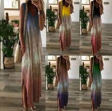 Новое поступление 2020 Летняя женская одежда длинное платье