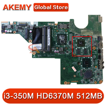 Voor Hp G42 CQ42 CQ62 Laptop Moederbord DAAX1JMB6C0 634649-001 Met I3-350M Cpu HD6370M 512Mb Gpu DDR3 Mb 100% Getest