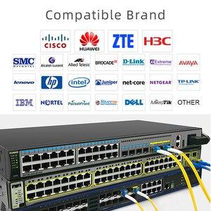 Image 4 - 5 pair 20KM Gigabit SM BIDI SFP Module LC Connector Optical Transceiver Single Mode Compatible with Cisco Fibra Ethernet Switch