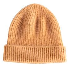 New Arrival jesień zima kobiety kapelusze 100% koza kaszmirowy, dzianinowy nakrycia głowy miękkie grube ciepła moda dziewczyna kapelusz 6 kolory wysokiej Quanlity