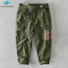 Pant Overall-Trouser Retro Vintage Cotton Men Casual Fashion Pencil Pocket Male Winter