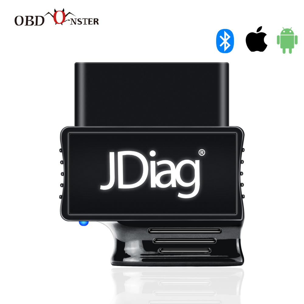 OBDII Code Reader Automotive Diagnostic Scanner For Android IOS OBD2 Bluetooth 4 0 Faslink M2  Detector OBDLink Easy Diag Update