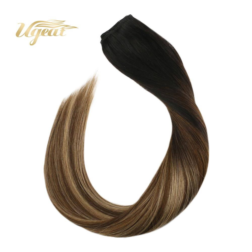 Flip In Hair Extensions Brazilian Human Hair Extensions 12-22