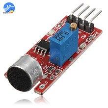 Высокочувствительный звуковой Микрофон Датчик обнаружения модуль для Arduino AVR PIC колонки плейер с микрофоном Модуль платы