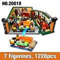 Классическая ТВ-серия американская драма друзья центральный Перк кафе Совместимость 21319 строительные блоки кирпичи модель игрушки подарок