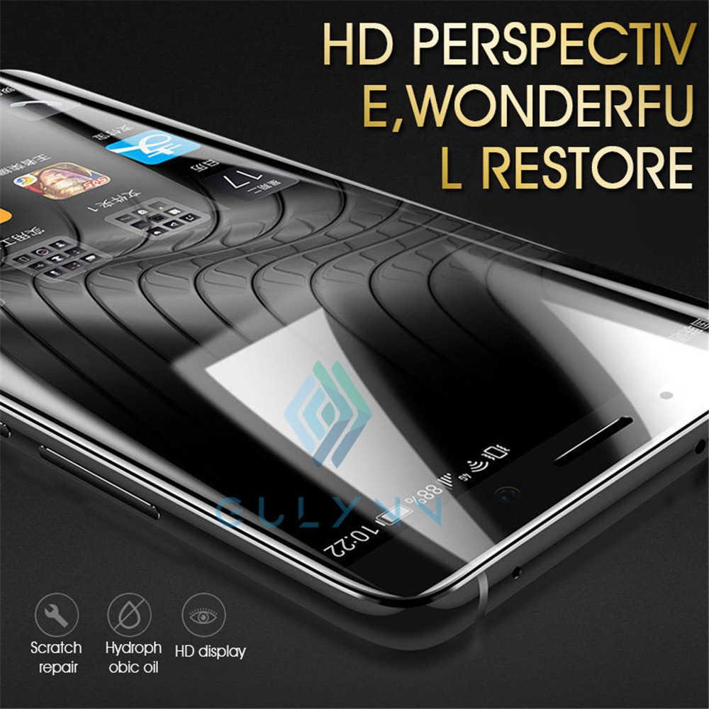 92D folia na cały telefon dla Sony XA1 XA2 XZ1 XZ2 XZ3 kompaktowy ultra Plus hydrożelowe folia ochronna na ekran dla Sony 5 Xperia 1 10 Plus
