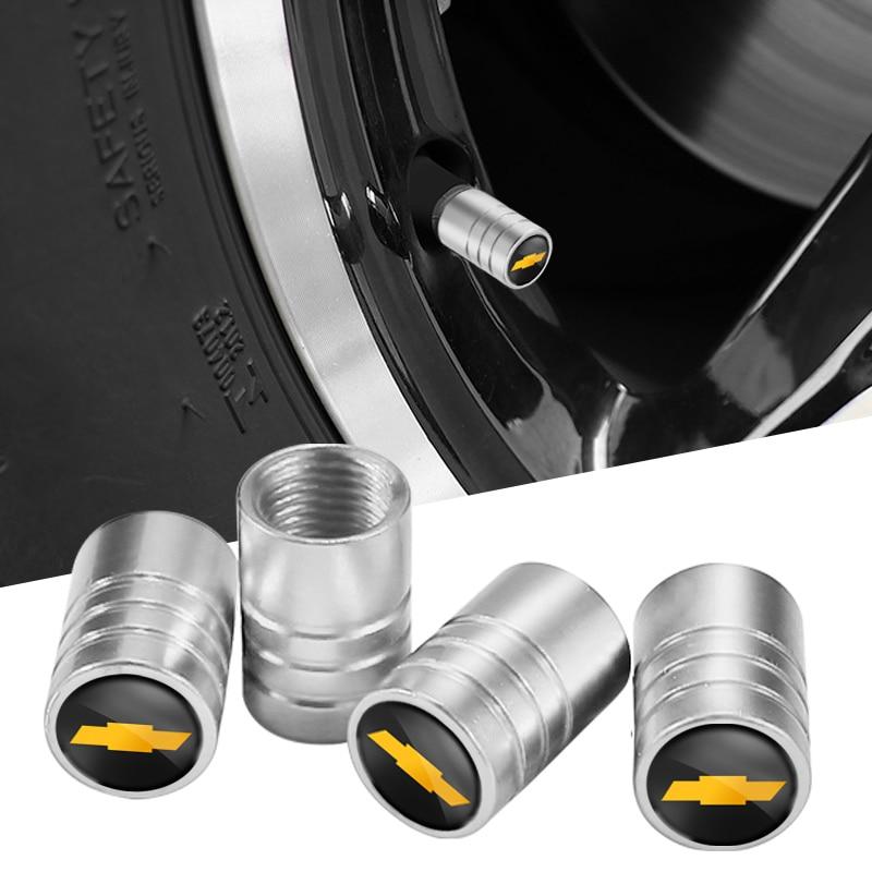 1 комплект, Металлические колпачки для клапанов автомобильных шин для Chevrolet Tahoe Cruze Z71 Aveo Camaro Captiva Equinox Impala