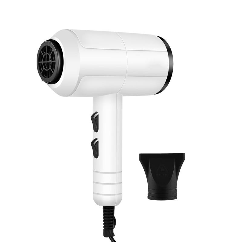 Secador de Cabelo Ventilador de ar Profissional Ferramentas Secador Negativo Elétrico Quente – Frio Cabeleireiro Barbeiro 1500w Íon