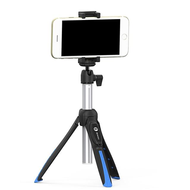 Benro Bluetooth Selfie Stick Tripod Monopod Self portrait Vlog Live Stick for iPhone 11Huawei Gopro Hero Osmo Action