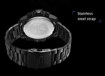 Top Brand Luxury Fashion Men Watches Quartz Watch Men Business Military Chronograph Wristwatch Relogio Masculino erkek kol saati 4