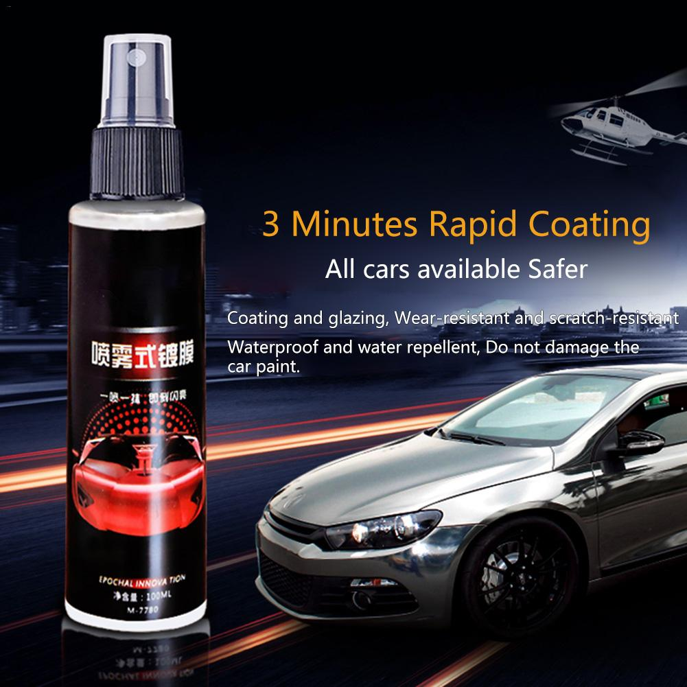 100ml 9H Car Anti-scratch Crystal Plating Coating Auto Lacquer Paint Care Polished Glass Coating Car Accessories