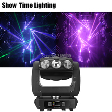 9pcs Dj Led Beam Unlimited Rotate RGBW  Phatom Moving Head Good Effect Use For Party KTV Night Club Bar