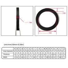 סרק גלגל חגורת לולאת בטלן גומי טבעת עבור קלטת סיפון מקליט קלטת נגן B85B