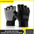 Gym Weightlifting Equipment Sports Gloves Outdoor Riding Training Half-finger Non-slip Palm Guard