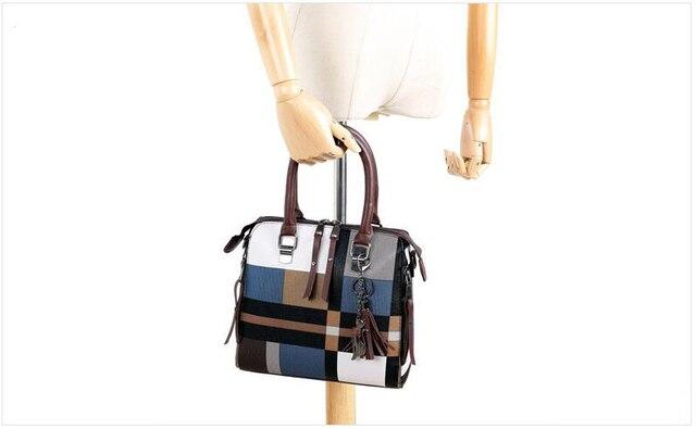 New 4pcs/Set Women Bags High Quality  Leather Shoulder Messenger Bags Tote Bag 5