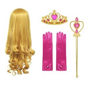 Детская тиара принцесса головной убор милые короны принцессы головной убор для девочек Детская повязка на голову аксессуары Аврора|Аксессуары для волос|   | АлиЭкспресс