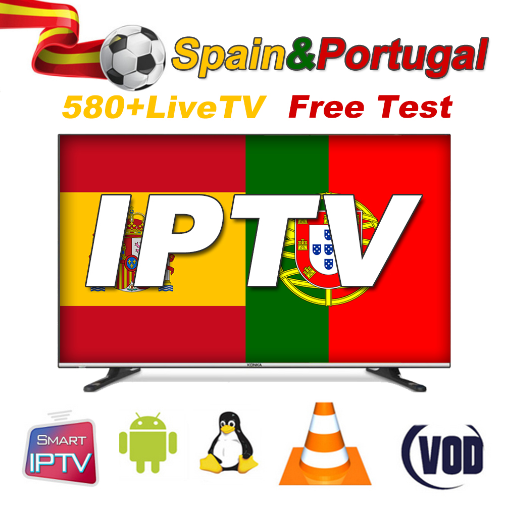 Fast And Stable IPTV Spain Subscription 1 Year IPTV Portugal Abonnement Lista IPTV Subscription M3U8 Android Smart TV Enigma2