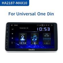 """Dasaita 1 Din Android 10 TDA7850 10.2 """"IPS uniwersalne Radio samochodowe Nissan Toyota Auto Stereo nawigacja GPS Carplay 4G 64G jednostka główna"""