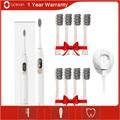 Новая Ультразвуковая электрическая зубная щетка Oclean X  усовершенствованная Водонепроницаемая ультразвуковая автоматическая зубная щетка ...