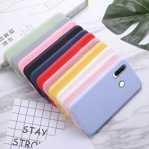 Силиконовый чехол для Huawei P30 Lite, чехол для телефона, ударопрочный чехол-бампер для Huawei P40 Lite E P30 Pro Y6 Y9, задняя крышка