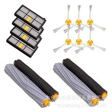 цена на High Quality Tangle-Free Debris Extractor & Hepa filter & side brush for iRobot Roomba 800 900 Series 870 880 980 Accessories
